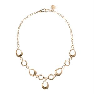 Picture of Teardrop Expression Gold Necklace